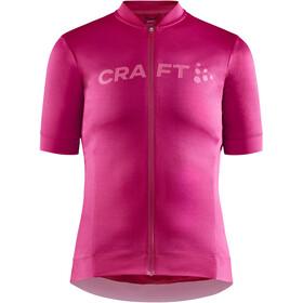 Craft Essence Koszulka rowerowa z zamkiem błyskawicznym Kobiety, różowy